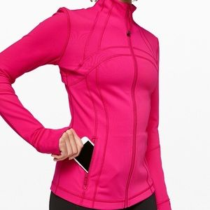 lululemon Define Jacket in Calypso Pink